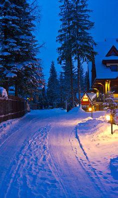 Winter paradise in Zakopane, Poland