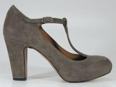 BIANCA DI – DECOLLETE T-BAR PER DONNA #scarpe #donna