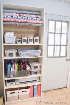 Ikea Craft Room, Craft Room Storage, Closet Storage, Diy Storage, Storage Ideas, Craft Rooms, Storage Solutions, Food Storage, Storage Hacks