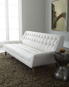 """Malibu"" Sofa by Jonathan Adler at Horchow."