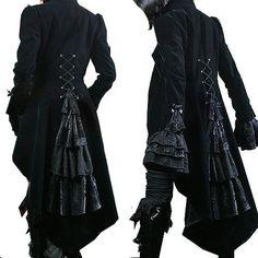 Veste gothique jas gothic victorian aristocrate jabot vest vampire mylène farmer