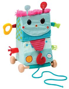 Lilliputiens-Baby Toys-Circus Rolobot Transformer