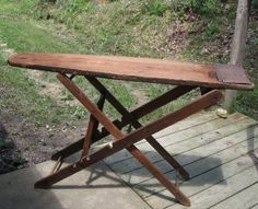 Wooden Folding Ironing Board