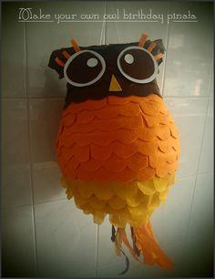 DIY: Cute Owl Pinata