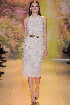 Best Bridal Looks from the Spring 2014 Paris Fashion Week - Munaluchi Bridal Magazine  Zuhair Murad