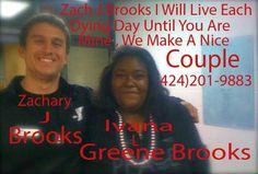 Zach Brooks And Ivana Greene Brooks
