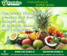 Vieni a provare la nostra MACEDONIA super vegan!! Scopri la nostra frutta esotica brasiliana: http://www.fruteiro.it/frutti-tropicali-brasiliani #fruttaesotica #macedonia #fruteirodobrasil #fruteiro #vegan