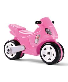 Look what I found on #zulily! Pink Motorcycle Ride-On by Step2 #zulilyfinds