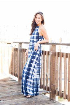 AdoreWe - VacayStyle Vacay Ocean Blue 2-Piece Dress - AdoreWe.com