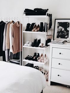 9 ways to organize a small bedroom design ideas bedroom decor bedroom bedroom bedroom bedroom decor bedroom bedroom bedroom bedroom bedroom Small Bedroom Organization, Closet Organization, Bedroom Storage For Small Rooms, Small Bedroom Decorating, Closet Storage, Ikea Small Bedroom, Ikea Bedroom Design, Organized Bedroom, Shoe Storage Ideas Bedroom