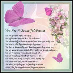 Birthday Quotes : Beautifull Person Card 1 - The Love Quotes Birthday Poems, Birthday Quotes For Daughter, Birthday Quotes For Him, Birthday Blessings, Daughter Quotes, Birthday Images, Birthday Cards, Birthday Prayer, Belated Birthday