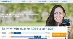 Kredito24 es una filial alemana que cuenta con cientos de especialistas en los mini créditos online. Gracias a  Kredito24, podrás conseguir hasta 750 euros en menos de 15 minutos, ya que kredito24 cuenta con un sistema automatizado que valida tu solicitud sin problemas en cuestión de  segundos.