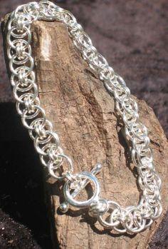 Great Summer Bracelet!!!...use my tiffany and add ribbon thru it