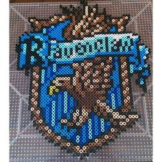 Ravenclaw crest - Harry Potter perler beads by this_life_creations