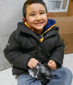 How cute is the smile on this guinea pig as he gets ready to go home with his grinning new boy? From The Animal Store #pets #animals #WordlessWednesday