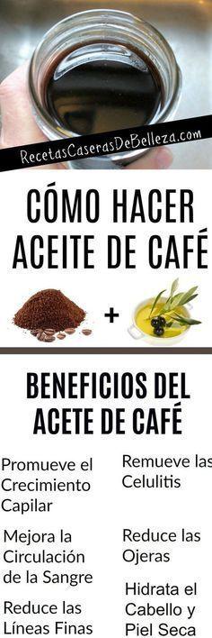 Cómo Hacer Aceite de Café