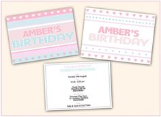 Candy lights - Personalised invites  http://facebook.com/honeyapplecouk