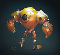 ArtStation - old bot, Sergey Katcykov