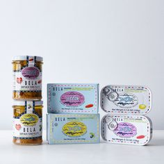 Portuguese Tuna, Mackerel, and Sardine Gift Set Piri Piri, Little Fish, Food 52, Portuguese, Cool Kitchens, Packaging Design, First Love, Things To Come, Tuna