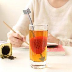 Reuseable Foof Safe Sweet Heart Shape Tea Leaf Bag Holder Tea Coffee Herb Punch Filter Heat Resistance Tea Infuser DU# $7.99   #shopping #fashionista #model #streetstyle #swag #stylish #ootd #love #dress #pretty #style #beautiful #fashion #beauty #cute