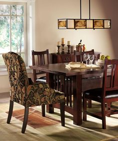 Home Decorators Collection Promo - Home Decoration - Easy Decor Dining Room Chairs, Dining Table, Bay Window Treatments, Mission Furniture, Craftsman Style, Upholstered Chairs, Easy, New Homes, Decoration