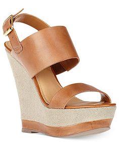 Steve Madden Women's Shoes, Warmth Platform Wedge Sandals