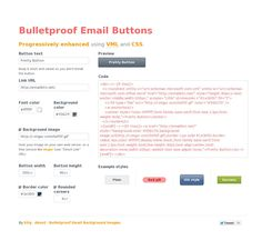 Bulletproof Email Button Html Email Design, Coding, Buttons, Programming, Plugs