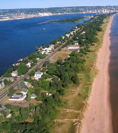 Minnesota Point, also known as the Park Point neighborhood of Duluth, Minnesota, United States; is a long, narrow sand spit that extends out from the Canal Park tourist recreation-oriented district of the city of Duluth.