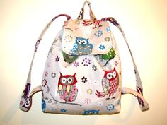 Owl Back Pack- Kids Backpacks- Tablet Βags - School Backpacks For Girls - Special Gift For Ladies.