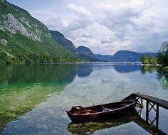 Lake Bohinj, Slovenia.