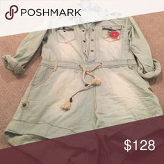 Spotted while shopping on Poshmark: Spell and the gypsy denim romper! #poshmark #fashion #shopping #style #Spell & The Gypsy Collective #Other