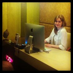 Meet our new colleague Asya!:) We are very happy to welcome her in our ICONic team! #iconhotelprague iconhotel.eu