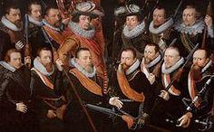 Officieren en vaandeldragers van de Oude Schutterij (1621), Stedelijk Museum Alkmaar