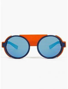 MYKITA Men's Blue MYLON Mallory Sunglasses | oki-ni