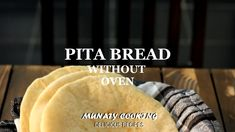 Breads 556687203943244715 - Pita bread is a soft Arabic bread and is baked in a very hot oven. Today I will teach you how to make pita bread that puffs every time. Source by barbarellamoon Homemade Pita Bread, Gluten Free Pita Bread, Arabic Bread, Bread Oven, Bread Baking, Naan, Food Items, A Food, Gastronomia