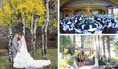 Weddings at  The Pines at Genesee in Golden, Colorado.