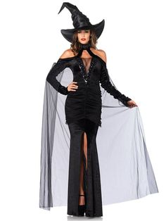 Sexy Adult Sultry Sorceress Costume