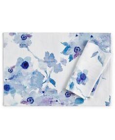 Lenox Indigo Floral Placemat - Blue