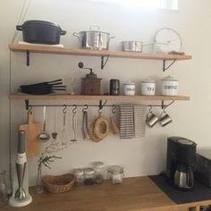 Emiさんの、キッチン,無印良品,一軒家,朝日,お気に入りの場所,自然光,無垢材,marushohomedesining,のお部屋写真
