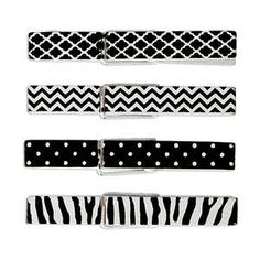Black & White Clothespins Image