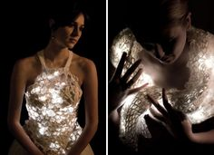 LED Knitwear. Amazing.