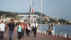 Promenade des Anglais, #Nice #Voyages, http://elisaorigami.blogspot.com