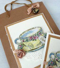 misha_cards / Čas na čaj - taštička