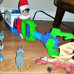 Elf on the Shelf Ideas and Pictures for the Holiday and Christmas Season. Beginning at Thanksgiving, enjoy this Tradition with your North Pole Visitor.
