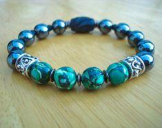 Men's Spiritual Healing Courage Patience Bracelet от tocijewelry