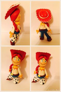 Jessie/ toy story/ cold porcelain