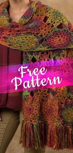 Crochet Rory Shawl [CROCHET FREE PATTERN] #crochetfreepattern #freecrochet #crochet2 #pattern #jobcrochet #croche #howtocroche