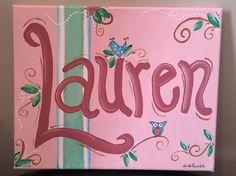 Painting by me - October 2015 - Lauren