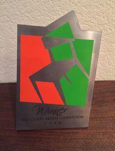 2016 High Desert Design Competition Award