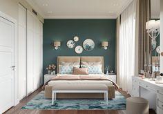 МЕТРАЖ: 94 м2  ДИЗАЙН: ГАЛИНА БЕРЕЗКИНА Bed, Furniture, Home Decor, Homemade Home Decor, Stream Bed, Home Furnishings, Interior Design, Beds, Home Interiors